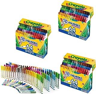 Crayola 64 支可水洗馬克筆 (58-8764) 3 Pack