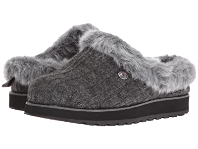 BOBS from SKECHERS Keepsakes Ice Angel (Charcoal) Women