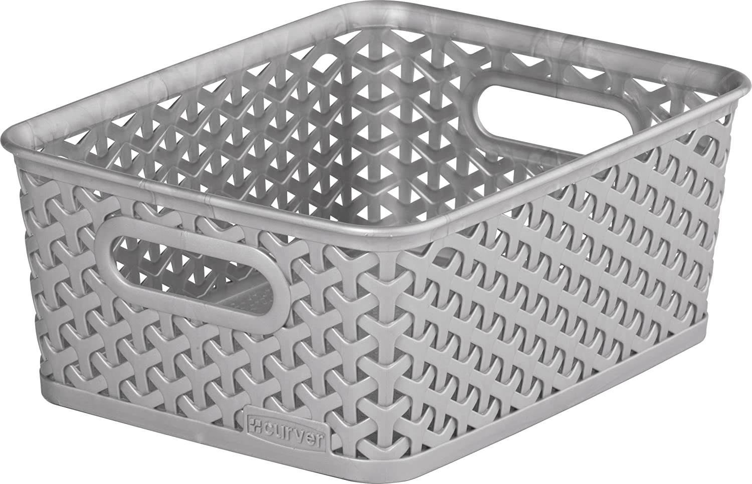 Curver My Purchase Style 196907 Storage Box Wicker Look Stackable Polyp S Recommended