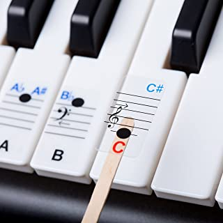LabelCreate New - Keysies All Notes. Complete Note Range Pia