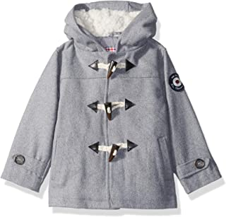 Baby Boys' Faux Wool Coat with Toggle Closure