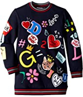 Dolce & Gabbana Kids - Blackboard Sweatshirt (Toddler/Little Kids)