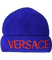 Knit Hat with Logo (Big Kids)