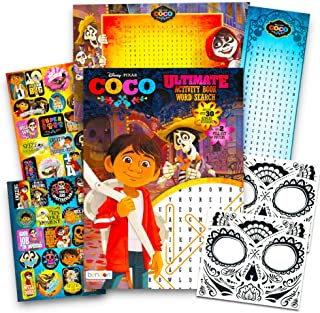 Disney Pixar COCO Activity Book Set -- Coco Coloring and Activity Book, Over 30 Stickers, 2 Posters and 2 Day of the Dead ...