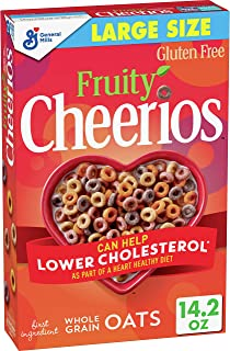 General Mills Fruity Cheerios Cereal Large Total, 14.2 Oz