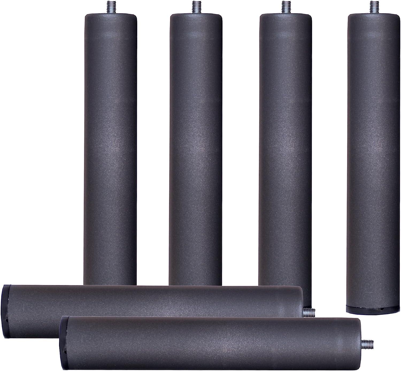 Bonitex-Somier multiláminas con REGULADORES LUMBARES + 7 patas. 150x200cm, FIRMEZA ADAPTABLE, TUBO 40x30MM y LÁMINAS de HAYA natural antideslizantes