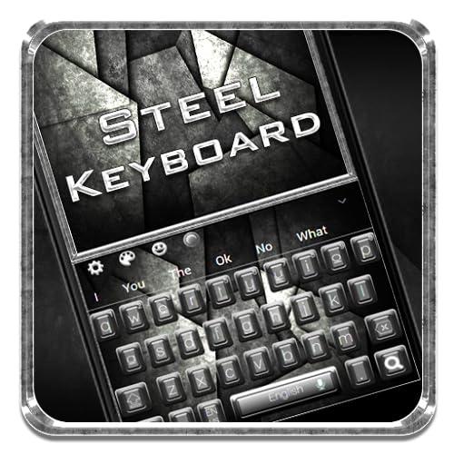 Black Metal Keyboard Theme