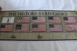 ACO Polymer Products History of Old Glory [ Flag History Poster ]