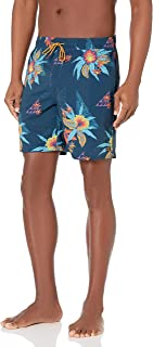 Men's Elastic Waist Stretch Sundays Layback Boardshort...