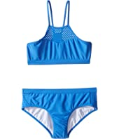Seafolly Kids - Summer Essentials Apron Tankini Set (Little Kids/Big Kids)