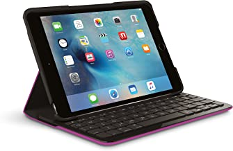 Logi Focus Protective Case with Integrated Keyboard for iPad Mini 4 by Logitech (Violet)