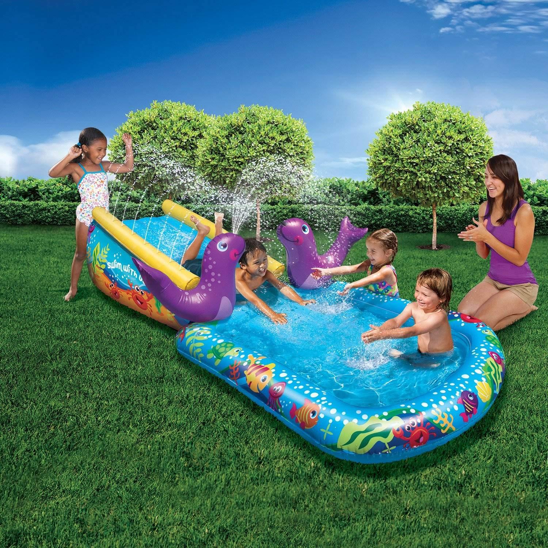 BANZAI Toddler Outdoor Inflatable Splash