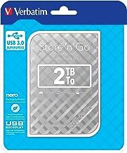 Verbatim Store 'n' Go 2.5 2TB Silver GEN 2 USB 3.0, 53198VBT (GEN 2 USB 3.0)