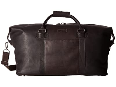 Kenneth Cole Reaction Colombian Leather I Beg To Duffel (Brown) Duffel Bags