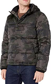 Lucky Brand Boys Long Sleeve French Terry Camo Hoodie
