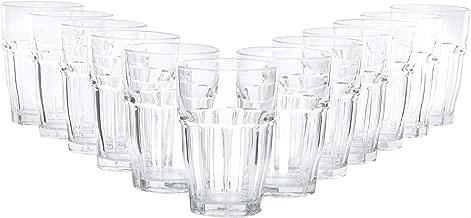 Bormioli Cocktailglas Set Rock Bar 12 teilig | Füllmenge 480 ml | Gesamthöhe 13 cm | Perfektes Universalglas für den täglichen Gebrauch