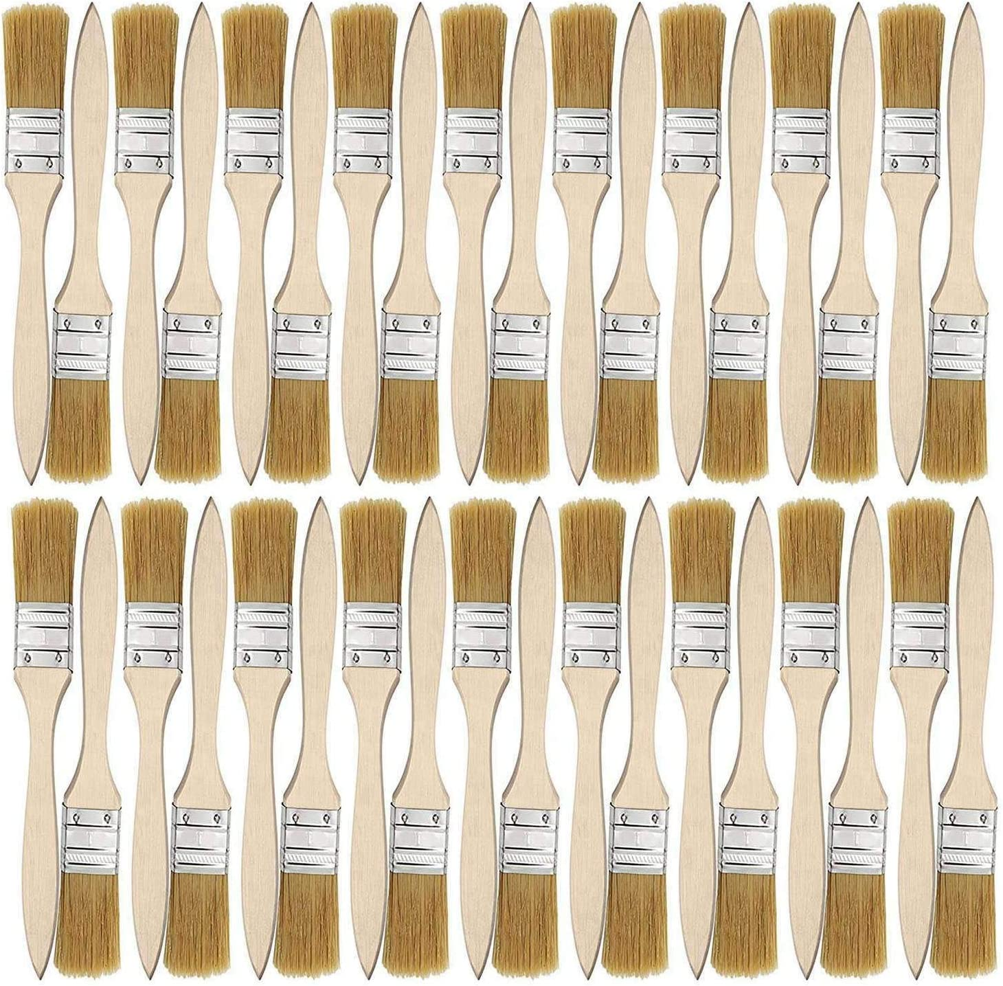 Rfvtgb 36 Pack of 1 Inch discount Chip Paint and Bru 24mm Brushes Ranking TOP4