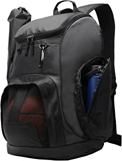 MIER Large Sports Backpack with Pocket for Swim, Outdoor, Gym, Basketball, 40L