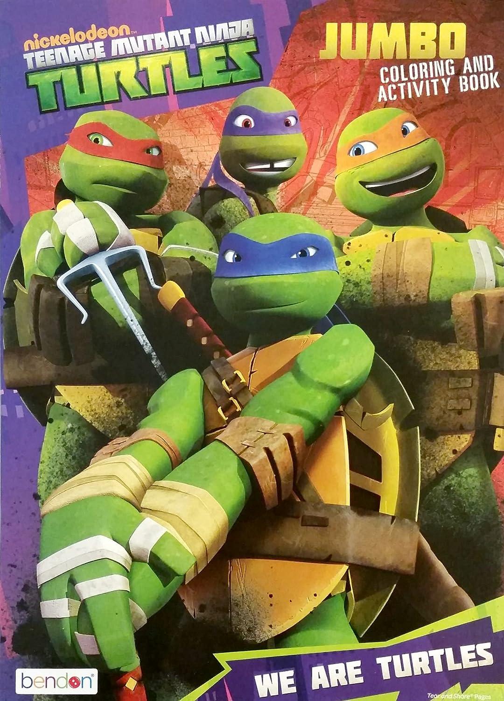 Teenage Mutant Ninja Turtles (TMNT) Jumbo Coloring  Activity Bo