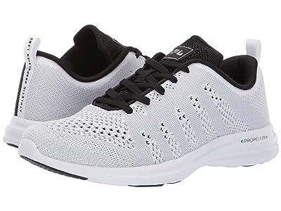 Athletic Propulsion Labs (APL) Techloom Pro (White/Steel Grey/Metallic Black) Men