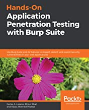 Hands-On Application Penetration Testing with Burp Suite: Use Burp Suite and its features to inspect, detect, and exploit security vulnerabilities in your web applications