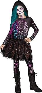 Fun World Girl's Boney Lass Costume