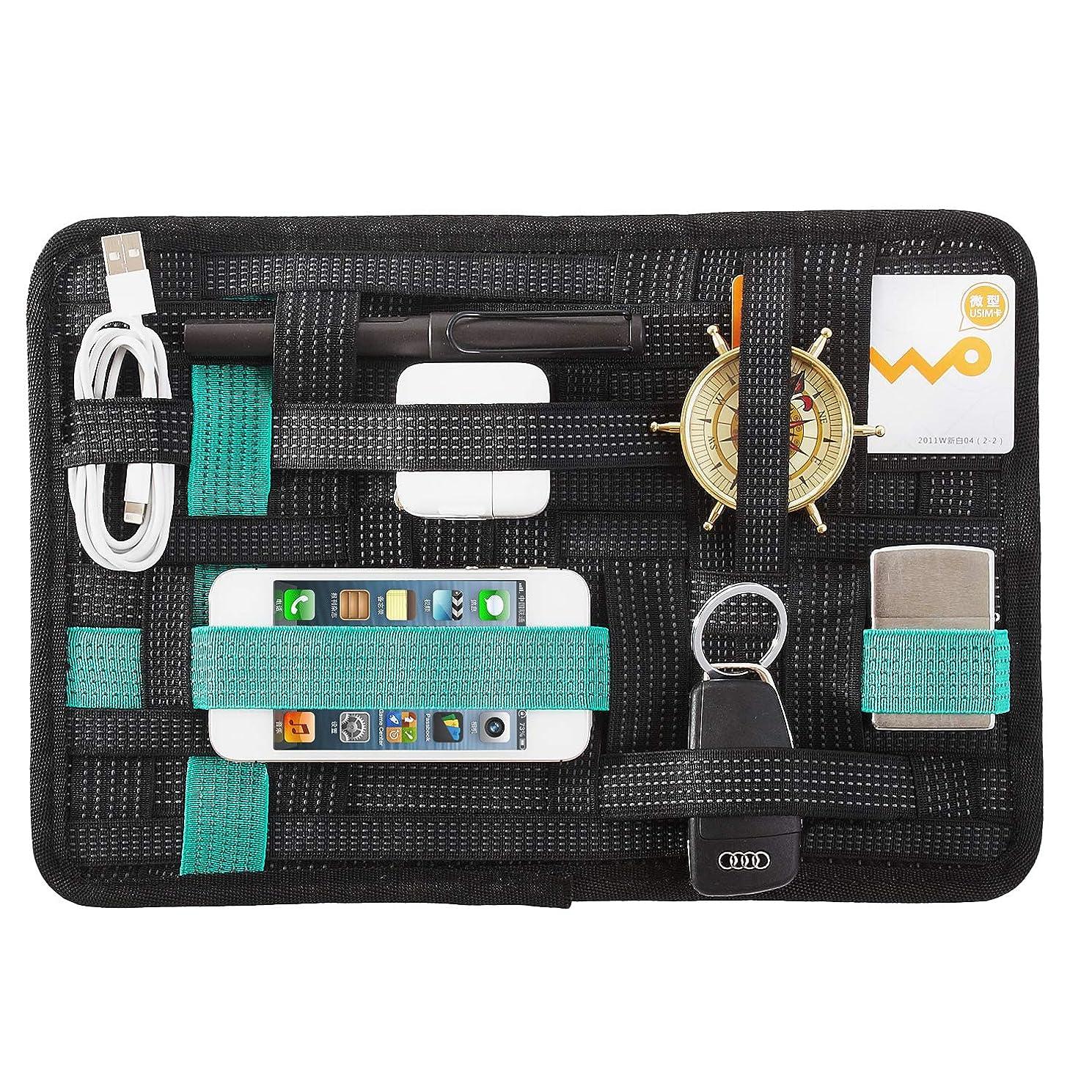 残り過去深くLZVTO PC周辺?携帯周辺 ガジェット&デジモノアクセサリ固定ツール バックインバック 旅行 出張用 トラベル用 カバン 整理 収納ケース インナーバッグ