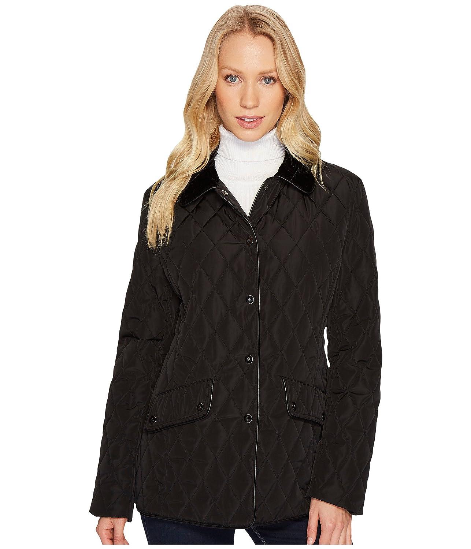 [ラルフローレン] LAUREN Ralph Lauren レディース Velvet Trim Heritage Blazer Quilt ジャケット [並行輸入品]