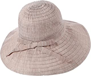 100/% Handwork Women Straw Sun Hat Fashon Laday Boho Beach Fedora Hat Sunhat Tri