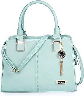 FIESTO FASHION Women's Light Green Latest & Stylish PU Leather Handbags