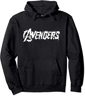 Marvel The Avengers White Spray Painted Logo Sweat à Capuche
