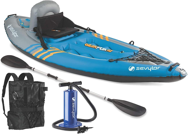 81g76iwN+PL. AC SL1500 Sevylor inflatable kayak reviews
