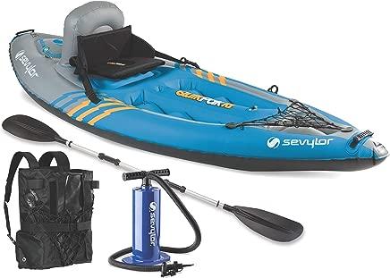Sevylor Quikpak K1 1-Person Kayak