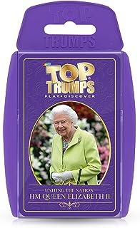 HM Queen Elizabeth Top Trumps Kaartspel