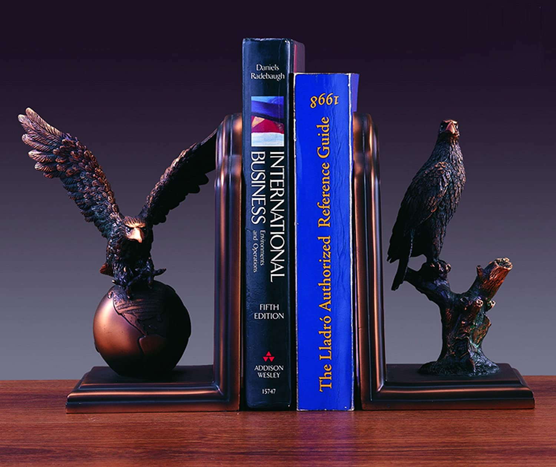 Bookends Set Eagle wholesale Regular dealer Bronze NIB Sculpture Statue Plated