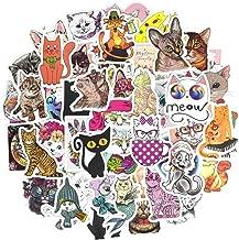 Waterproof Cat Vinyl Stickers Bomb Laptop Water Bottle Folders Toys for Kids(50Pcs/Pack)
