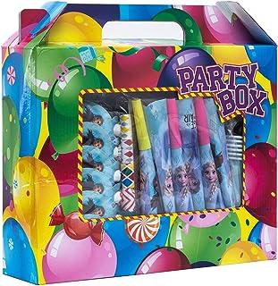 90pcs Set Frozen Theme Party Disposable Tableware Set Decoration Supplies Christmas Table Cloth Set for Kids Favor Birthda...