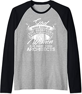 Become Architects T Shirt, Gift For Architects T Shirt Raglan Baseball Tee