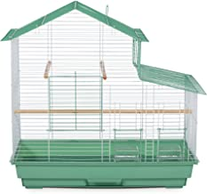 (green) - Prevue Pet Products House Style Small Bird Cage, Green, SP41615-2