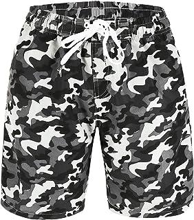 b1fc8fd546 Amazon.com: Big Boys (8-20) - Trunks / Swim: Clothing, Shoes & Jewelry