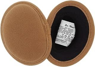 Bandless Ear Muffs For Men & Women, Soft Winter Ear Warmers, 2 Sizes