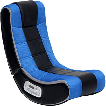X Rocker V Rocker SE Black Foam Floor Video Gaming Chair for Adult, Teen, and Kid Gamers -2.1 High Tech Audio and Wireless Capacity - Foldable and Ergonomic Back Support