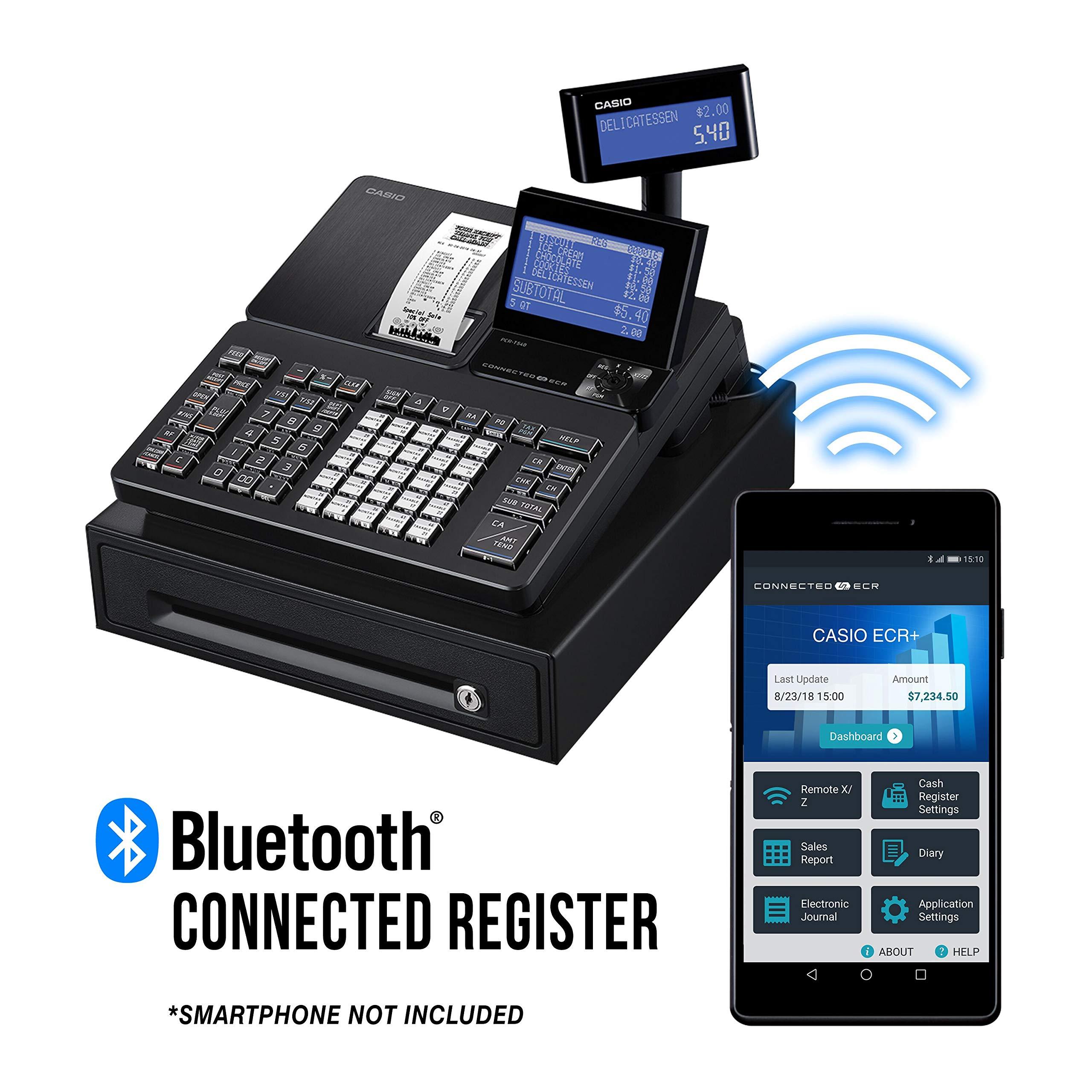 Casio PCR T540 Cash Register 4 5