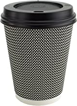 Details about (200 Sets) 10 oz Disposable Coffee Cups with Dome Lids and Sleeves, BONUS
