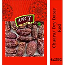 Ancy Dry Fruit Mall Red Dry Dates/ Lal Sukha Khajoor (1000 GMS)