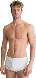 Octave® 2 Pack Mens Soft 100% Combed Cotton Classic Y Style Full Briefs