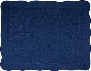 USTIDE Baby Quilt Monogram Lightweight Blanket Embossed Cotton Quilt Four Seasons,35.8