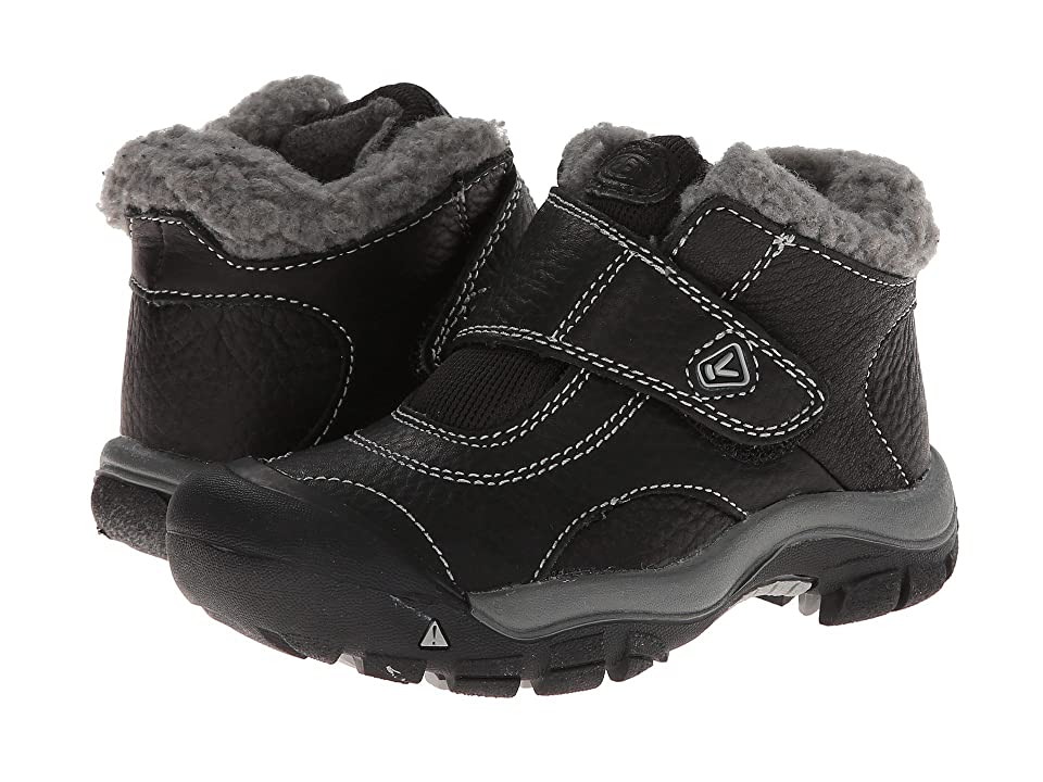 Keen Kids Kootenay (Toddler/Little Kid) (Black/Neutral Gray) Kids Shoes