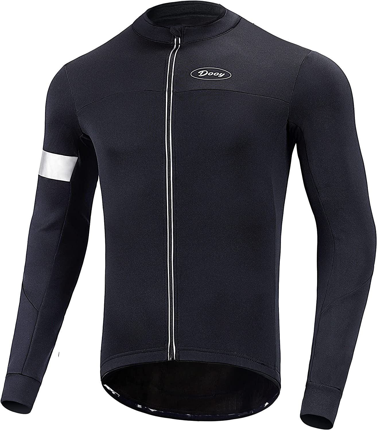 Dooy Men's Ranking Very popular integrated 1st place Cycling Bike Jersey Thermal Shirt Long Sleeve Biking