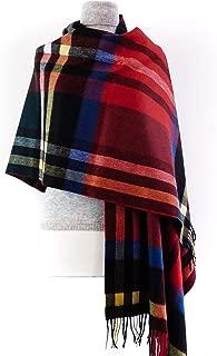 Kiltane of Scotland Stole Pure Cashmere Scottish Pashmina Scarf Shawl Tartan Wrap - Designed in Scotland